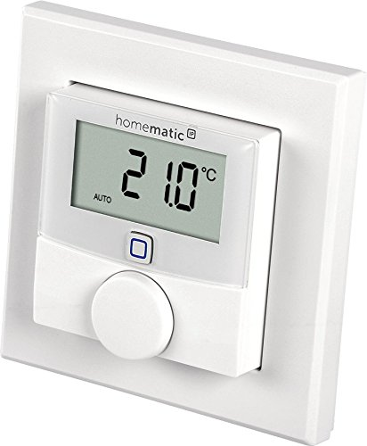 Homematic IP 143159A0 Wall Thermostat with Humidity Sensor - White
