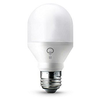 LIFX Mini - White (E27) Wi-Fi Smart LED Light Bulb, Dimmable, Warm White, No Hub Required, Works with Alexa, Apple HomeKit and the Google Assistant