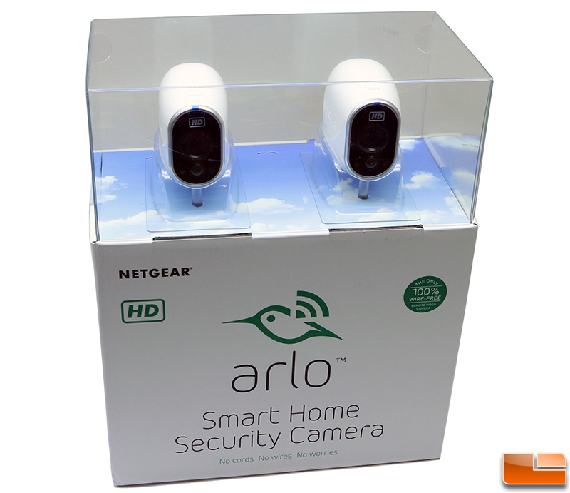 Netgear Arlo VMS3230 - Smart security system + 2 camera