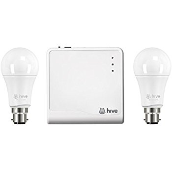 Hive Active Light Starter Kit, Works with Alexa, Includes Hive Hub