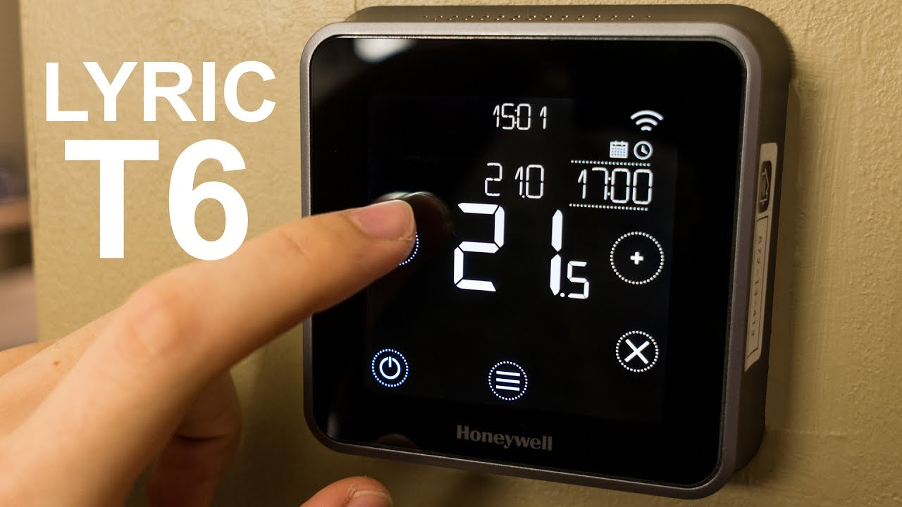 Honeywell Lyric T6 smart thermostat review - YouTube