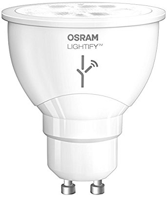 Osram Lightify Smart Home Connected LED Light Bulb GU10, 2700 K