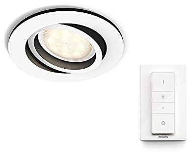 Philips Hue White Ambiance Milliskin 25W GU10 Recessed Spotlight