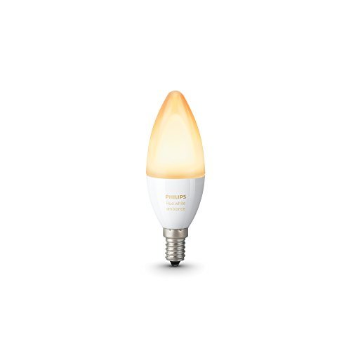 philips hue white ambiance personal wireless lighting e14 edison screw bulb the home. Black Bedroom Furniture Sets. Home Design Ideas