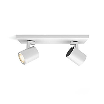 Philips Hue White Ambiance Runner 5.5 W GU10 Twin Spot Bar Ceiling