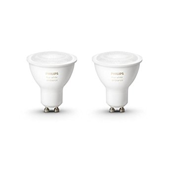 Philips Hue White Ambience Personal Wireless Lighting 2 x 5.5 W