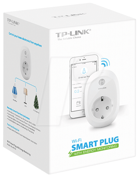 TPLINK HS110: Switchable WIFI plug with current measurement at