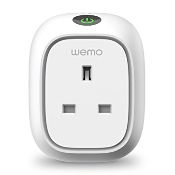 Wemo Insight Switch, Wi-Fi Smart Plug, Control Lights and