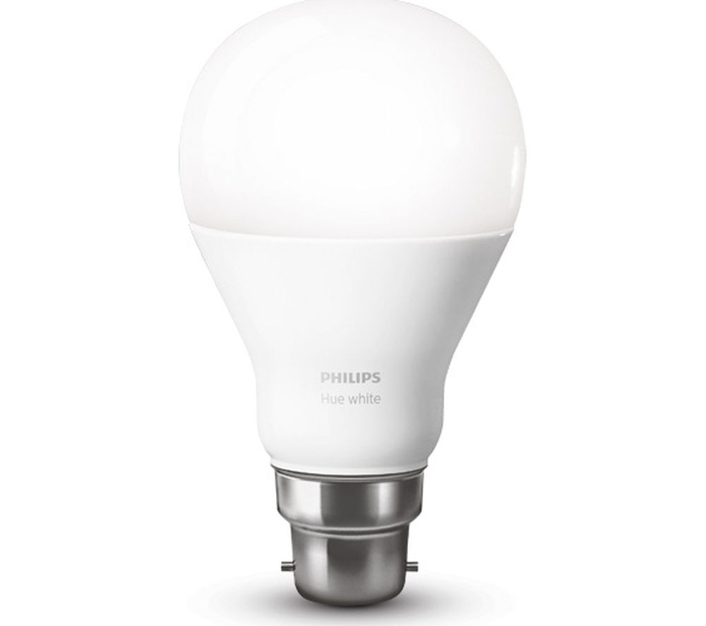 Buy PHILIPS Hue White Wireless Bulb - B22 | Free Delivery | Currys
