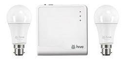 Hive Active Light Starter Kit Includes Hive Hub and 2 x B22 Bayonet Bulbs