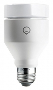 LIFX (E27) Wi-Fi Smart LED Light Bulb, Adjustable, Multicolour, Dimmable, No Hub Required