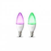 Philips Hue White and Colour Ambiance Personal Wireless Lighting (2 Pack)