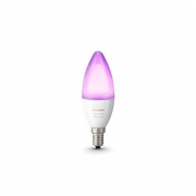 Philips Hue White and Colour Ambience Personal Wireless Lighting LED E14 Small Edison Screw bulb